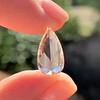 3.33ct Pear Shaped Rose Cut Diamond 13