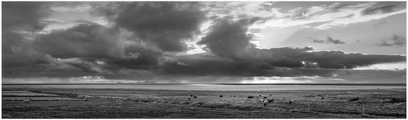 Faroe Landscape 17     Black and White Photography by Wayne Heim