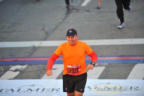 Inter. Half Finish, Gallery 1 - 2014 Detroit Marathon