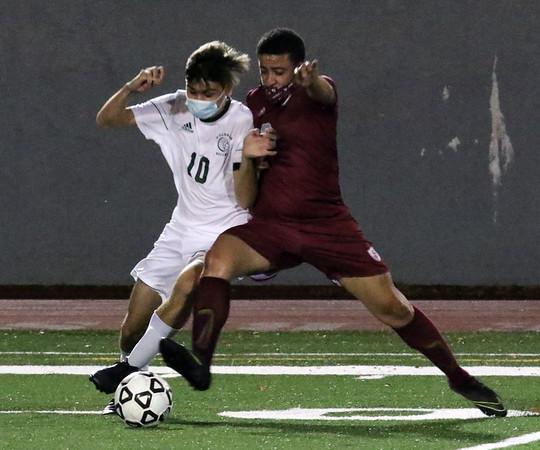 Billerica vs Lowell soccer 102120