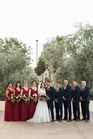 Family + Bridal Party