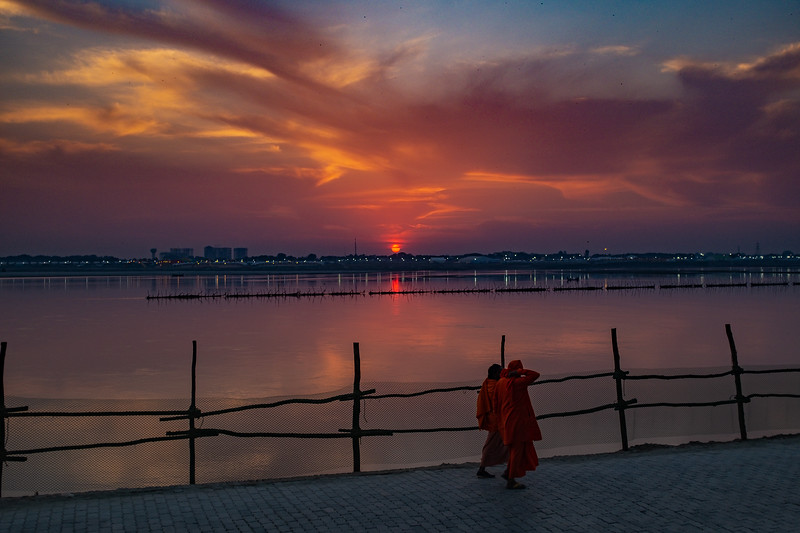 Sunset on Ganges