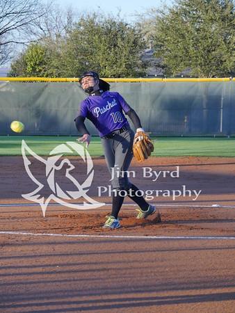 PHS softball vs Martin  3-7-17