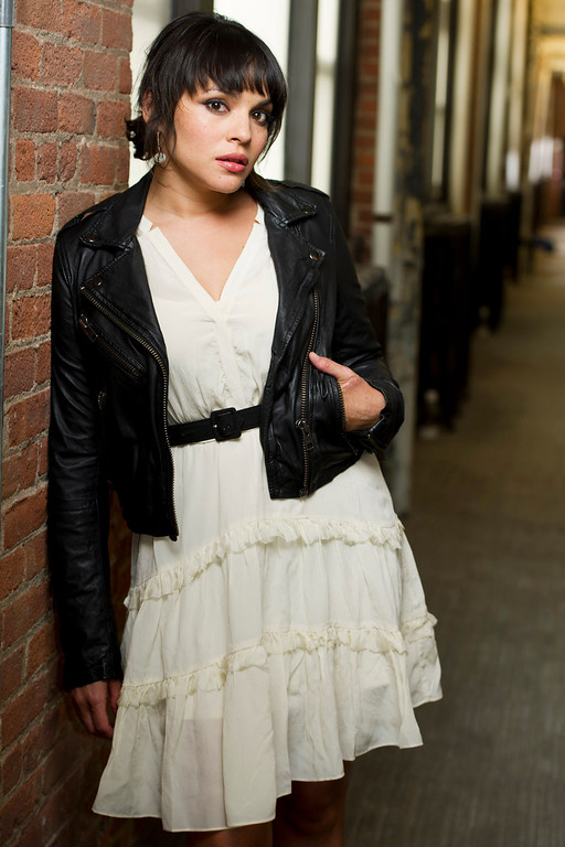 . Norah Jones poses for a portrait in New York, Monday, April 9, 2012. (AP Photo/Charles Sykes)