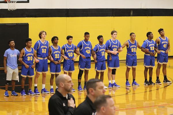 200118 Boys Varsity Basketball v Lutheran S
