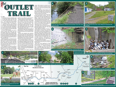 Keuka Outlet Trail Map