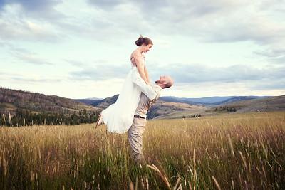 Alex + Tim's Retouched Wedding Story