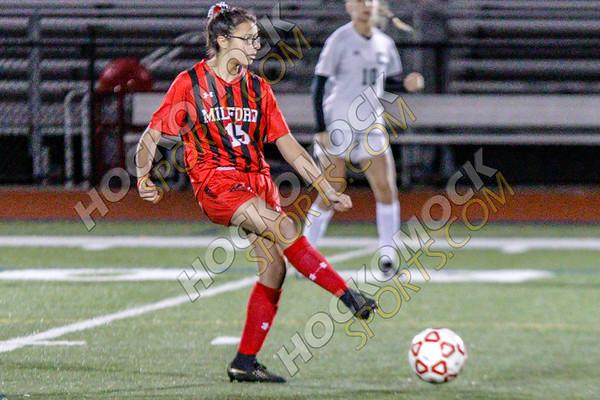 Milford-Canton Girls Soccer - 10-25-18