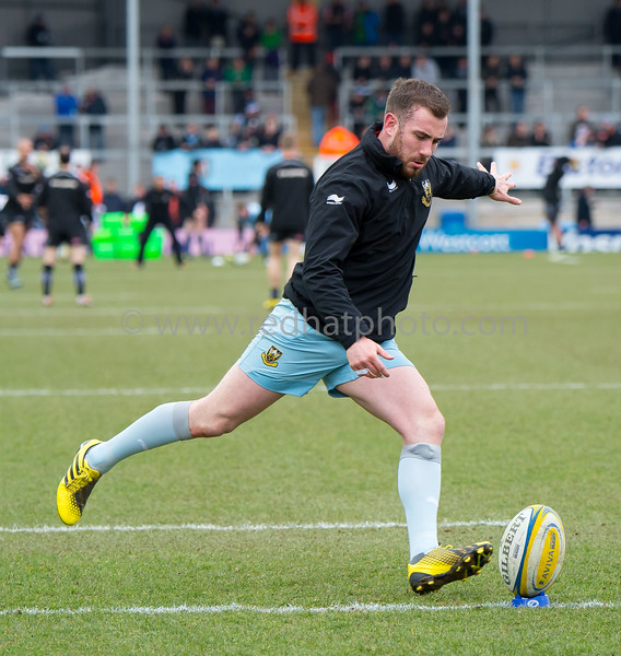 Exeter Chiefs vs Northampton Saints, Aviva Premiership, Sandy Park, 20 March 2016
