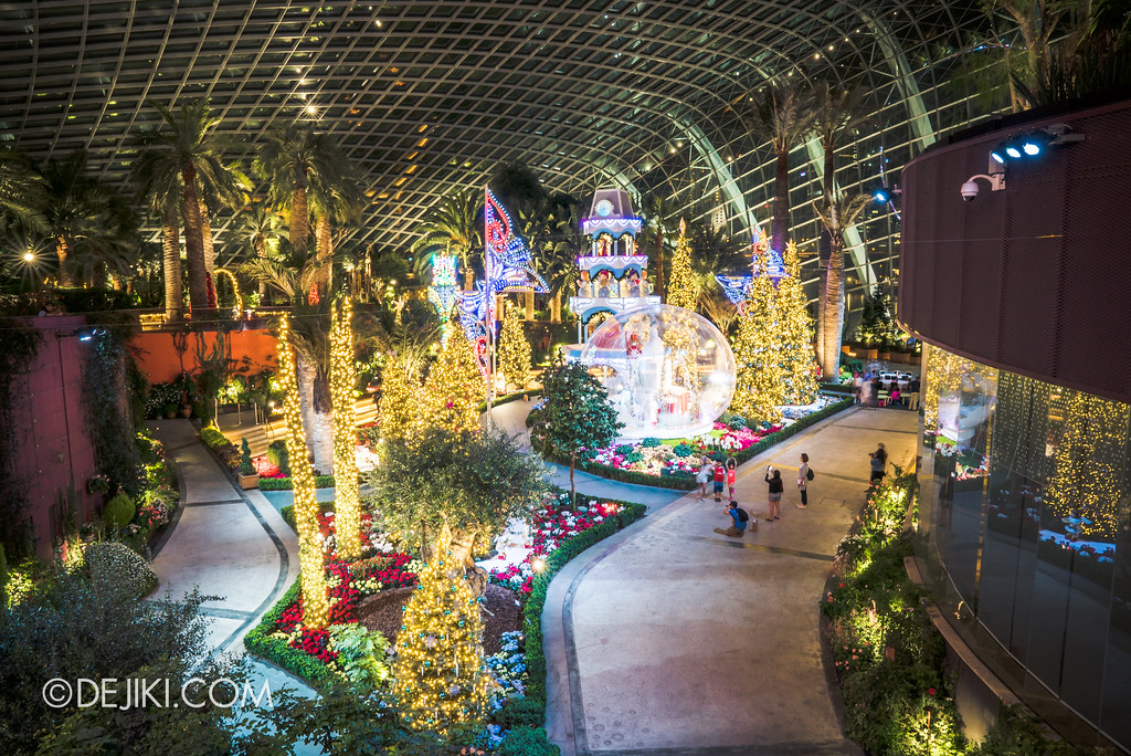 Gardens by the Bay - Merry Medley aerial view from entrance