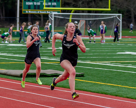 Track events Set six, 3200 meters con't: Track and Field Nisqually meet 2, 03/27/2019