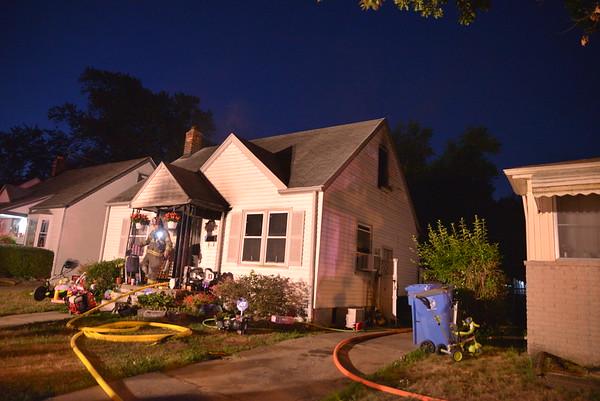 Dearborn Heights - Lehigh street - House Fire