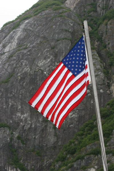 I always have to take a picture of our flag