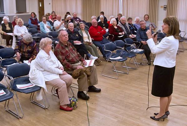 speier speaks to seniors in mill