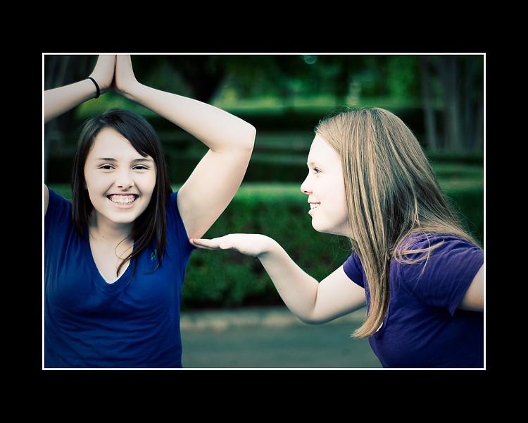 Cousins/Best Friends (Cassie and Amanda)
