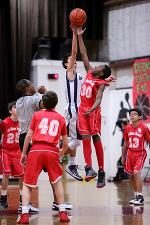 Feb 25 - BBall - Boys 7th Gr Gold vs SMG
