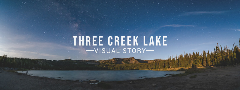 Three Creek Lake Visual Story