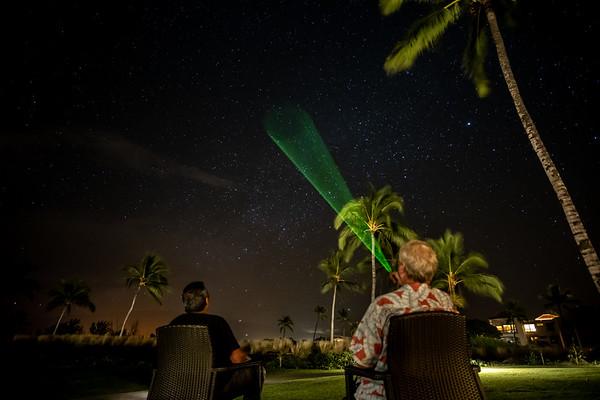 Hawaiian Night Sky and Milkyway
