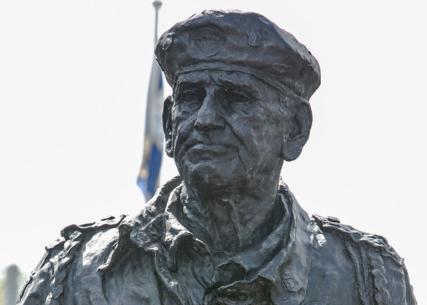 "William ""Wild Bill"" Guarnere Statue Unveiling"