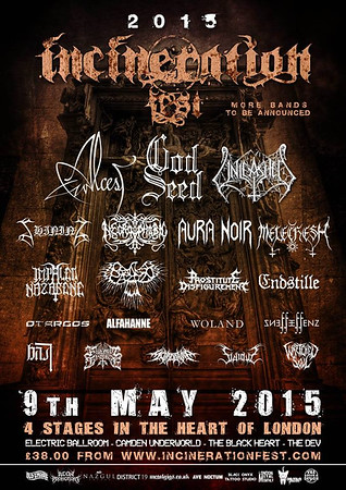 UNLEASHED – Incineration Fest, Camden, London 9/5 2015