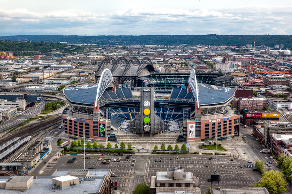 Seahawk Stadium at CenturyLink - NFL