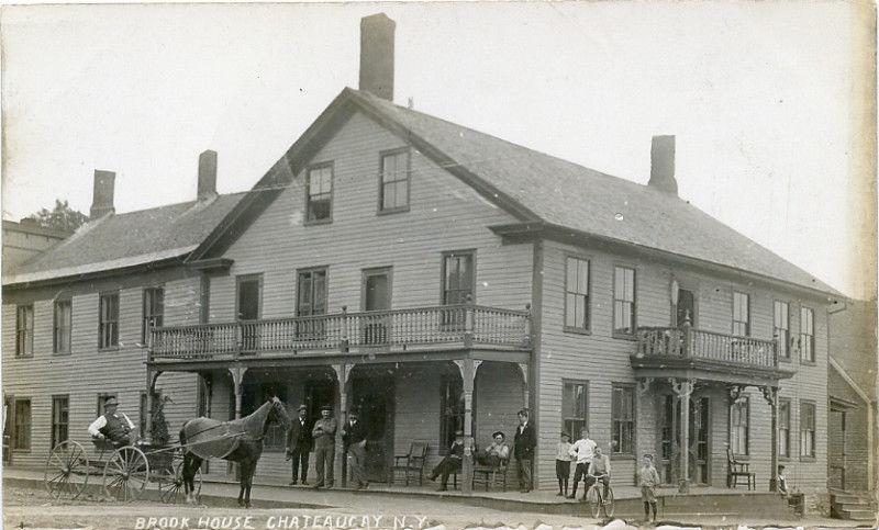 Brook House, Chateaugay,N.Y.