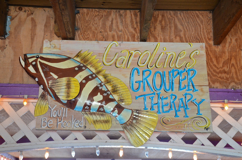 There's nothing like a little Grouper Therapy right on the river!