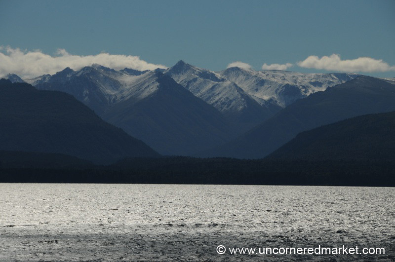 Late Afternoon Over Lake Nahuel Huapi - Bariloche, Argentina