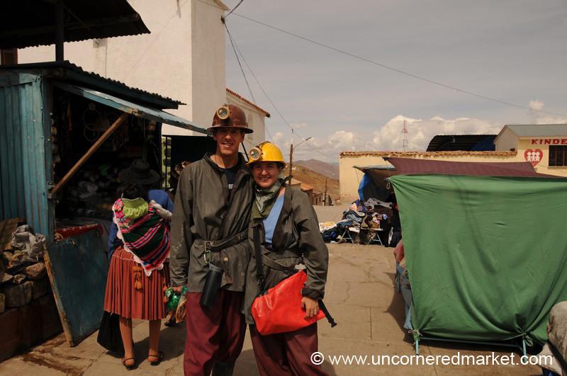 Ready for the Potosi Mines - Bolivia