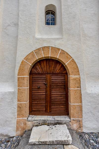 Benediktinerinnenkloster St. Johann in Müstair: Eingang zur Heiligkreuzkapelle