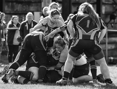 2019 03 24 - Cilfynydd Ladies 12 v Llantwit Fardre Ladies 29