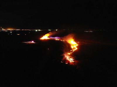 DADS Landfill Large Brush Fire