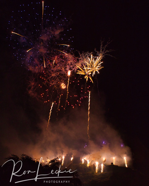 "Edinburgh's ""End Of Festival"" Fireworks 2019"