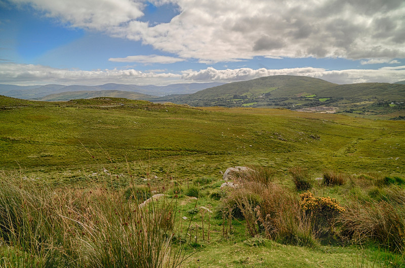 Moll's Gap, on the road from Kenmare to Killarney.