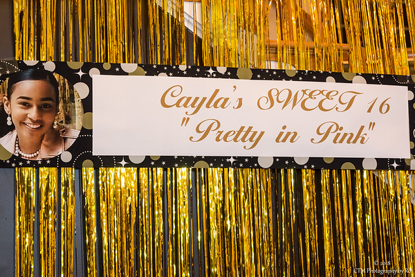 Cayla's Sweet 16 Celebration