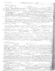 Merrill Letters and Journal Entry Pages