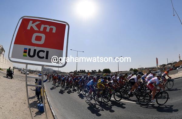 Elite Womens Road Race, 134kms (Doha, Qatar)