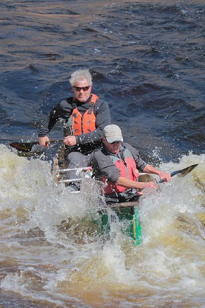 St George Canoe Race 2018