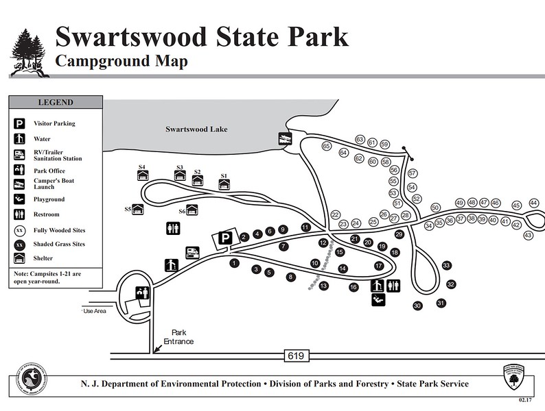 Smartswood State Park (Campground Map)