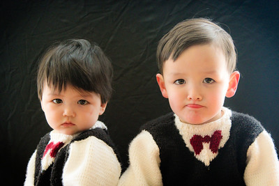 2014 Micah and Quentin Sweaters