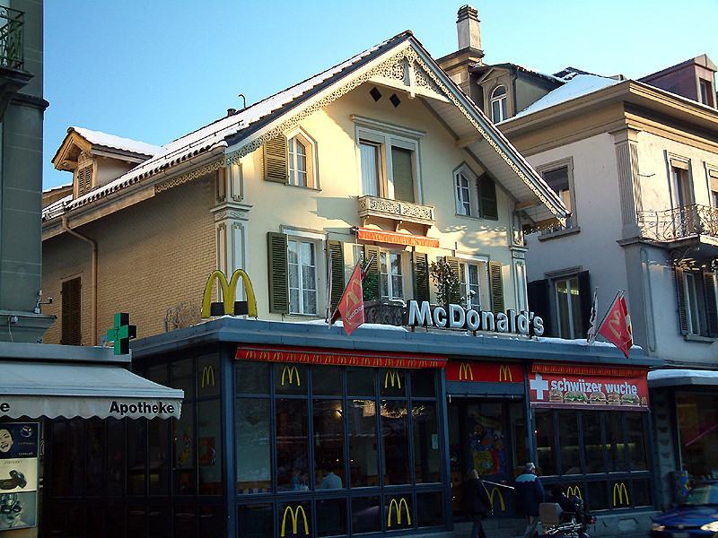 Interlaken - McDonald's