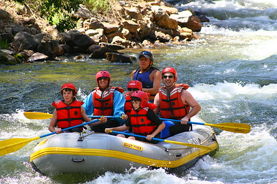 Geo Raftin 7-12-08pm with Christian