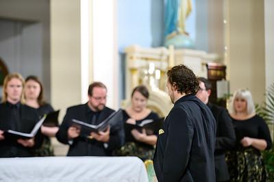 Te Deum at Our Lady of Sorrows 12.08.19