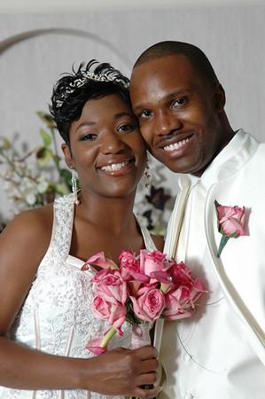 Faith and Alex Wedding.Atlanta,Ga.April 2006.