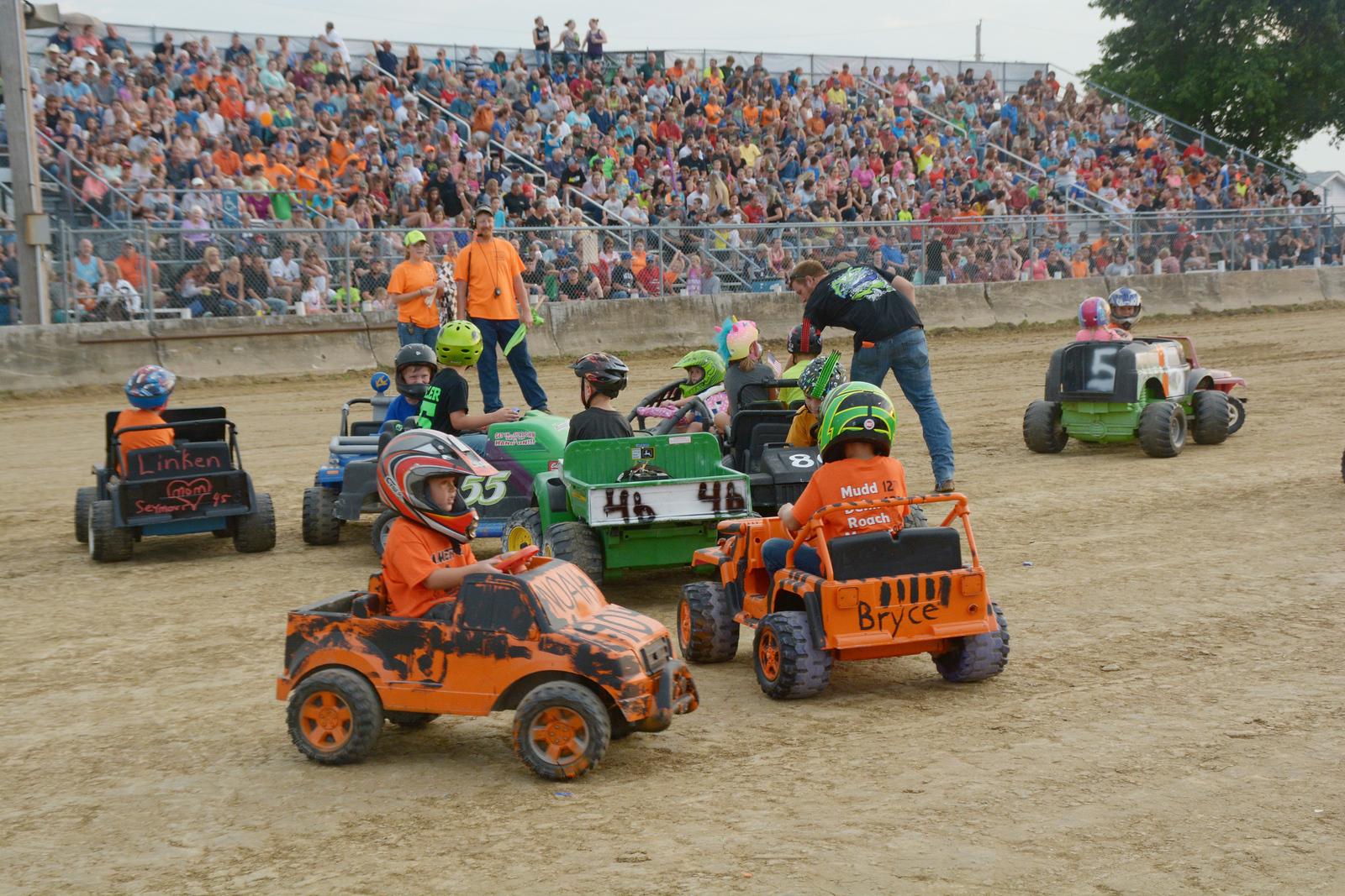 Monroe County Fair's 2016 Power Wheels