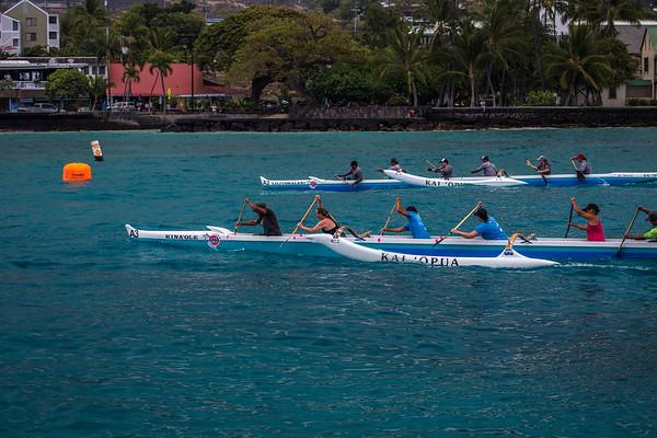 Sheraton/Rays on the Bay Kai'Opua Canoe Club Race