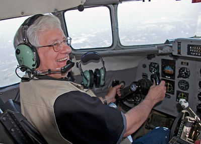 MF on the Piedmont DC-3