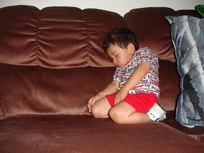 2005-06-22 AJ asleep on the couch