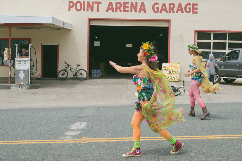 Fourth of July parade, Point Arena, CA