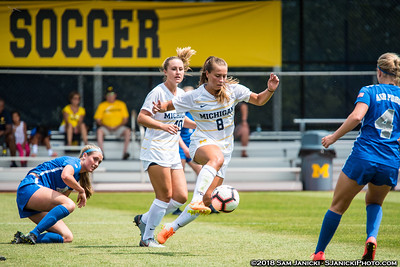 8-11-18 - Best of Michigan Women's Soccer Vs Air Force EX